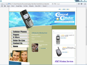 Example of Retail Gifts Arts and Other Internet Marketing Promotion
