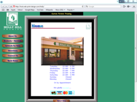 Example of Retail Gifts Arts and Other Best Web Design
