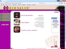 Example of Retail Gifts Arts and Other Web Design Services
