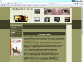 Example of Retail Publishing web site design