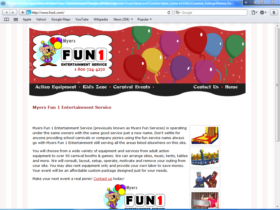 Example of Retail Sports and Health website designers