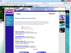 Example of Retail Transport and Logistics Professional Web Design