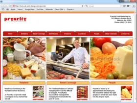 Example of Retail Transport and Logistics website design