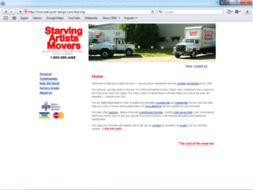 Example of Retail Transport and Logistics Web Design Development