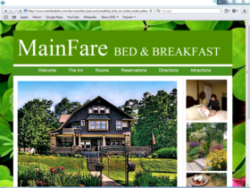 Example of Travel and Lodging Hotels and Restaurants search engine marketing