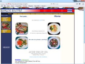 Example of Travel and Lodging Hotels and Restaurants Website Promotion