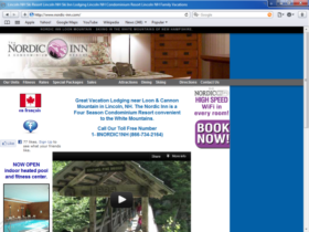 Example of Travel and Lodging Hotels and Restaurants Business Web Design